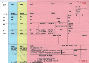 4-part-carbonless-Eyeglass-Order-Forms