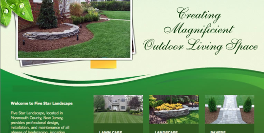 Five Star Landscaping in New Jersey